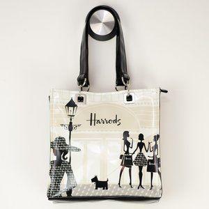 Harrods Knightsbridge Shopper Bag Tote NWOT